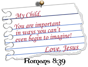 Love note from Jesus