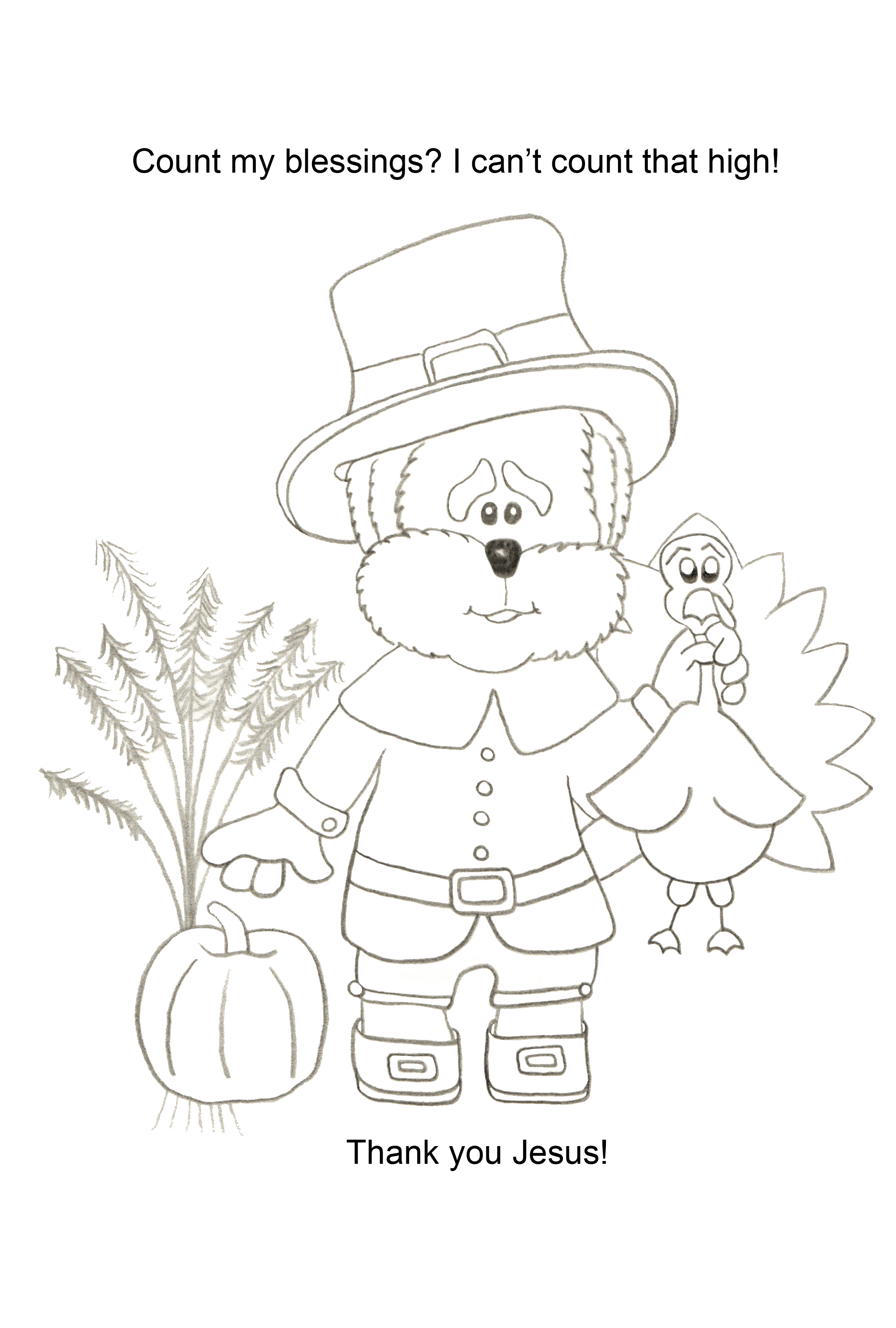 Count Your Blessings Coloring Page wwwtopsimages